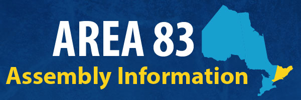 Area 83 Assembly Information